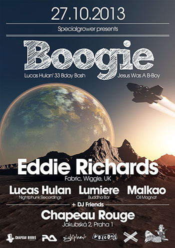 Boogie: Eddie Richards